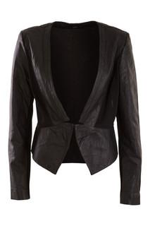 Jackets for Women | Elin Leather Blazer | FATE