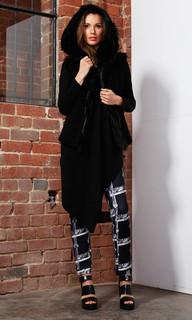 Jackets For Women Online | Dana Fur Vest | FATE