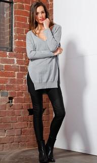 Women's Knitwear | Rhea Knit Tunic | FATE