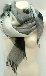 Women's Accessories | FA2250 - Monochrome Scarf | FAB