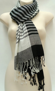 Women's Accessories Online | FA2371 - Stripe Scarf | FAB