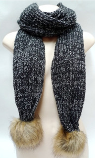 Women's Accessories | FA2552 -Grey Blend Scarf | FAB