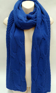 Women's Accessories | FA2554 -Blue Scarf | FAB