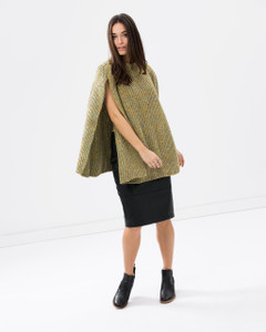 Women's Knitwear | Round My Tummy Poncho | KITCHY KU