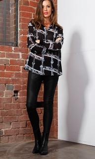Women's Pants | Mika Leather Pants | FATE