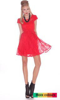 Ladies Dresses | Flirtini Skater Dress | HONEY & BEAU