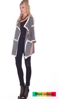 Women's Knitwear Online   Lined Up Knit   HONEY & BEAU