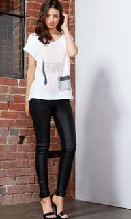 Women's Tops | Paintly Graphic Tee | FATE