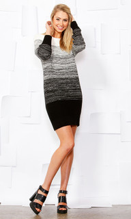 Ladies Dresses | Ombre Knit Dress | SASS