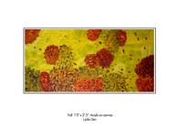 Fall in Hamilton (Sold)/ Artist: Lipika Sen/ Medium: Acrylic on Canvas