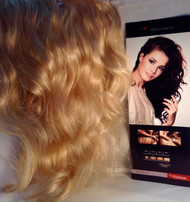 Clip on 100% Human soft curly hair
