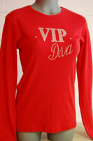 "NOW ON SALE !  VIP ""Diva or Girl"" Crystal Bling'd Bella Shirts - U.S. ONLY"