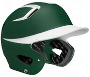 "Easton Natural Grip 2-Tone Batting Helmet JUNIOR Rubberized matte finish for modern look and great feel Slimmest profile and most aerodynamic venting system on market High grade ABS shell for strength and durability Dual density foam padding provides protection, comfort, and ""Best Fit"" Bio-Dri moisture management padding liner Meets NOCSAE standards"