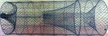 """Texas Style Hoop Net  5-18"""" Steel Hoops  1"""" Mesh  Flat Flews"""