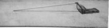 "CRAWFISH RAKES 8' Handle 1/4"" Mesh"