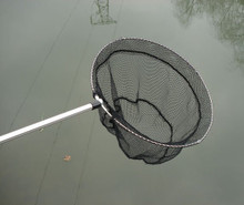 "DIP NETS  Net Number SH 2  Bow Size 16"" X 18""  Handle Length 48""  Mesh Size Sq. 3/16""  Net Depth 24""  Price Each $31.20"