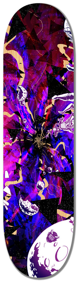 The Black Hole Triptych -DECK 2