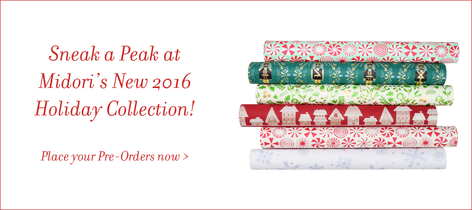 New 2016 Holiday Gift Wrap Collection