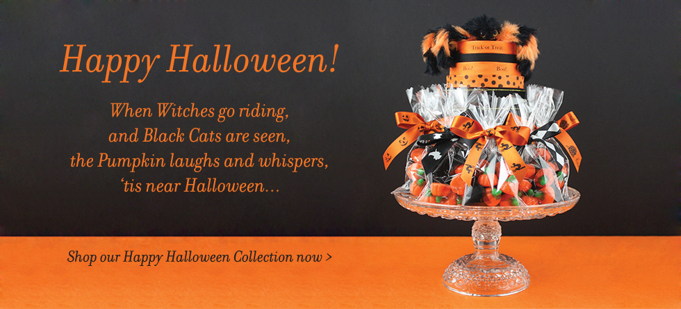 Halloween Ribbon and Gift Wrap Collection