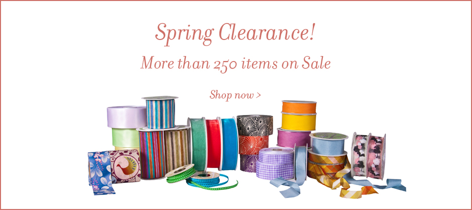 Wholesale Ribbon and Gift Wrap Sale