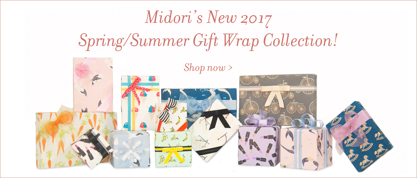 New Spring Summer Gift Wrap Collection