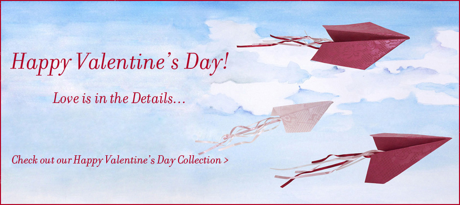 Valentine's Day Collection of Ribbon and Gift Wrap