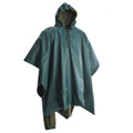 Water Resistant Poncho with Fleece Lining