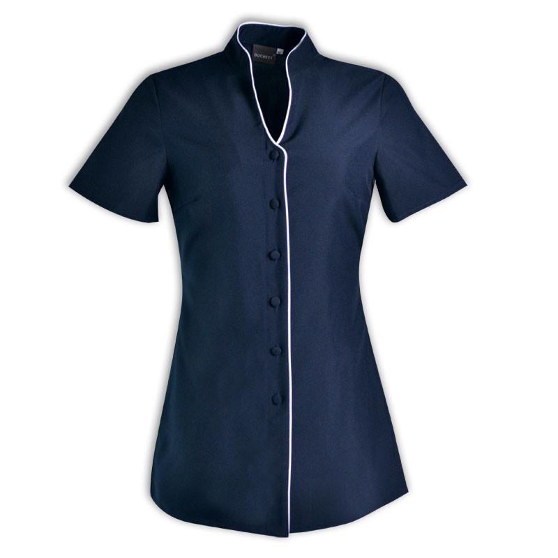 Beauty salon uniforms i nicole tops i azulwear south africa for Spa uniform south africa