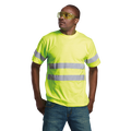 150g Poly Cotton Safety T-shirt w/Reflective Tape