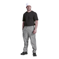 Chef Baggy Pants | Check Pattern