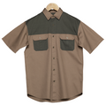 Bush Shirt Kalahari/Moss-Mens