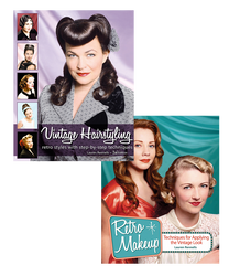 Purchase both Vintage Hairstyling and Retro Makeup for the discounted price of $55.95!