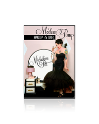 Modern Pinup Hair and Makeup Tutorial DVD set