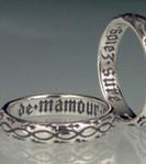De Mamour Soiez Poesy Ring