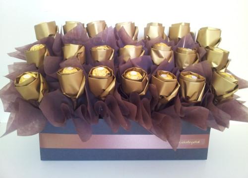 ♦ Ferrero Chocolate Rosebuds