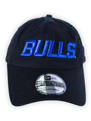 Bulls Black New Logo Cap
