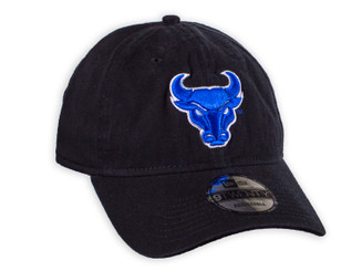 Hat Adjustable black bull cap