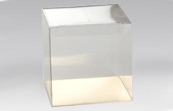 Transparent 12cm Cube