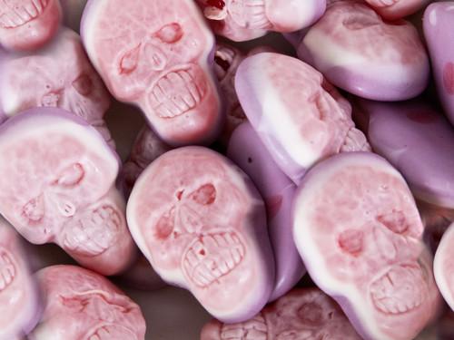Jelly Filled Skulls - Halloween