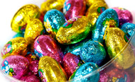 Milk Chocolate Hollow Easter Eggs x 100