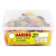 Haribo Tubs - Giant Sour Suckers