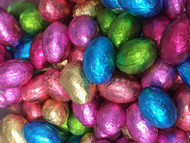 Easter Eggs in gorgeous bright foils