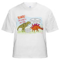 Tee shirt -- Rawr! Dinosaurs did not all exist at the same time!