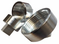 "2-1/4"" Machined Thread Insert - .025""/"" shrink"