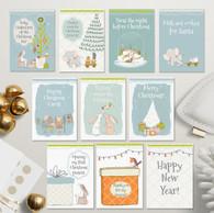 Christmas Milestone Cards - Set of 10