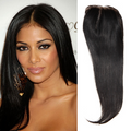 Straight Virgin Brazilian Lace Closure
