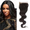 Body Wave Virgin Brazilian Lace Closure
