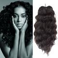 "16"" 18"" 20"" Bundles Wavy Virgin Brazilian Hair"