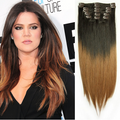 Ombre Clip-In Hair Extensions