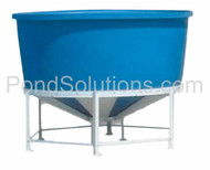 "SCCB8530 Cone Bottom Tanks 44"" Deep x 85"" Diameter, 650 Gallons - Requires Shipping Via Motor Freight"
